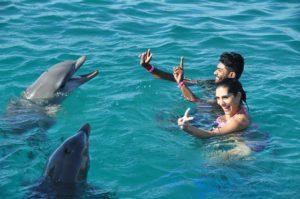 Activité aquatique à l'île Maurice
