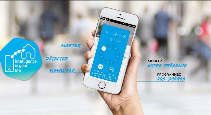 maison connectee avec smartphone